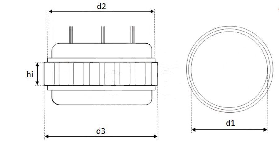 Статор генератора AFB3557