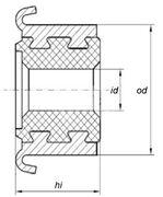 Коллектор моторчика печки KSS0018