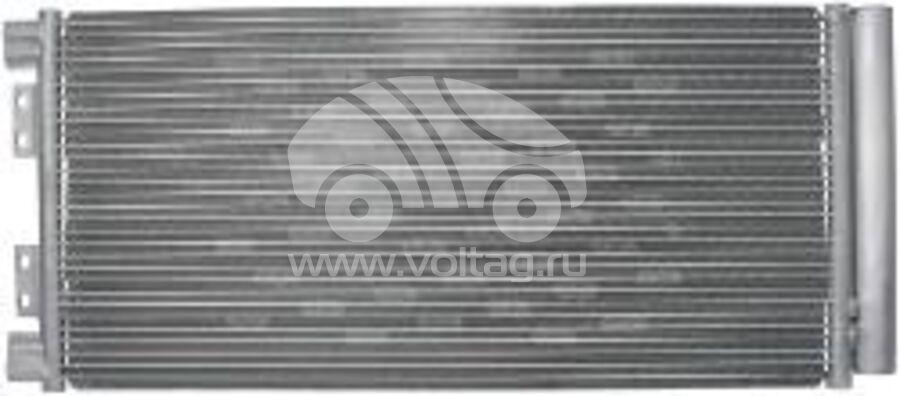 Радиатор кондиционера KRC0393