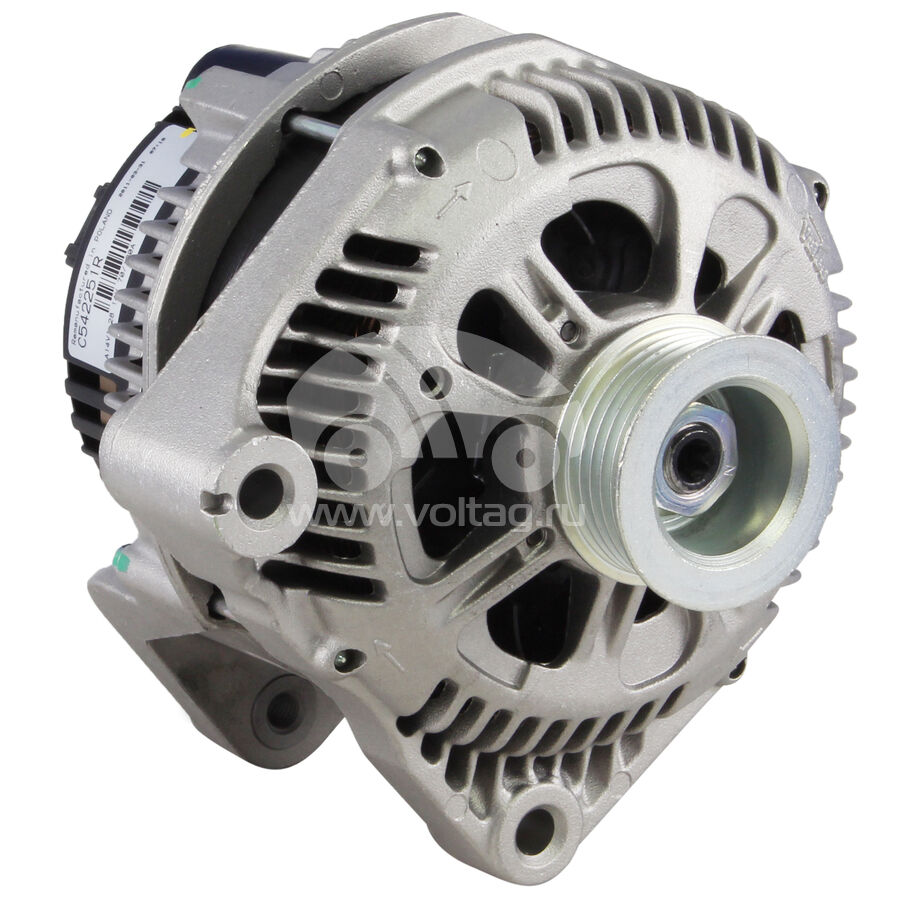 BMW 530d 2.9 M57D30 ALTERNATOR WITH PULLEY 1998-2004 120 AMP NEW E39