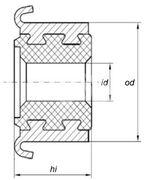 Коллектор моторчика печки KSS0007