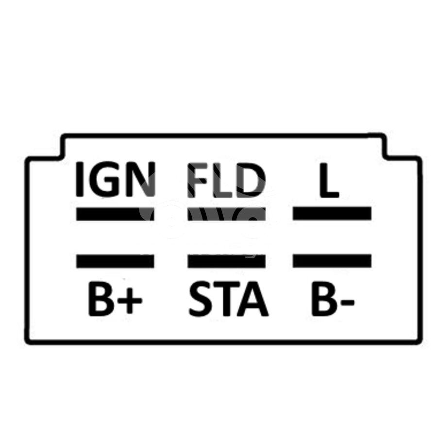 Регулятор генератора ARM3951