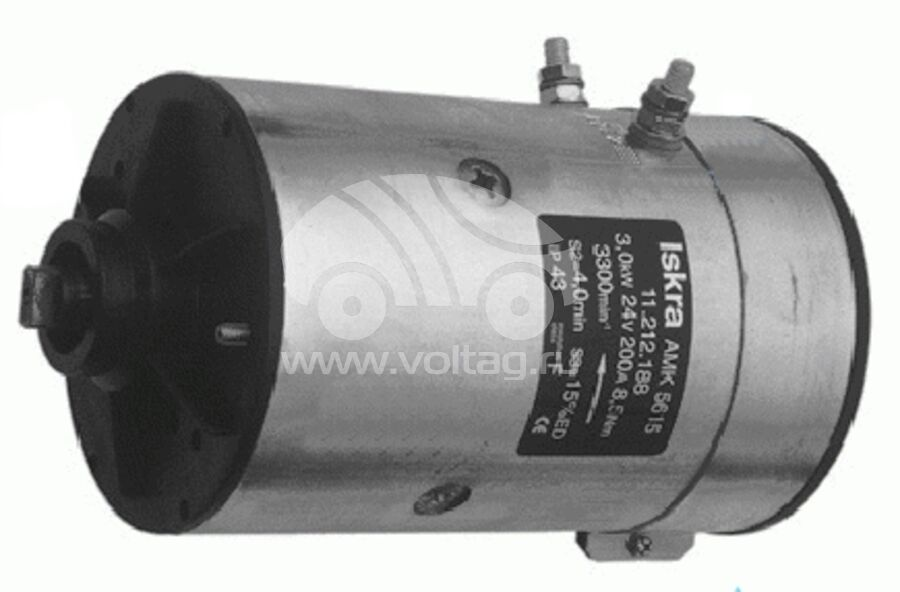 Электромотор постоянного тока AMK5531