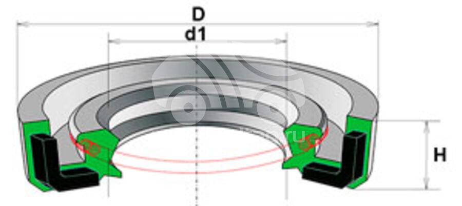 Сальник рулевой рейки HAZ1053
