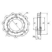 Геометрия турбокомпрессора MGT0009
