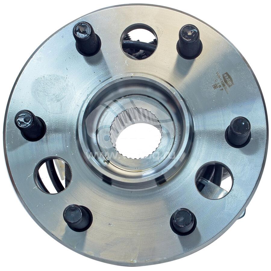Ступица колеса с подшипником в сборе и монтажный комплектKRAUF WBK1063DU (15997071)