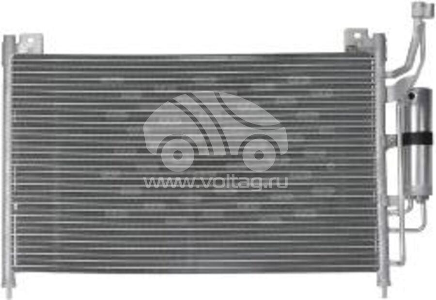 Радиатор кондиционера KRC0411
