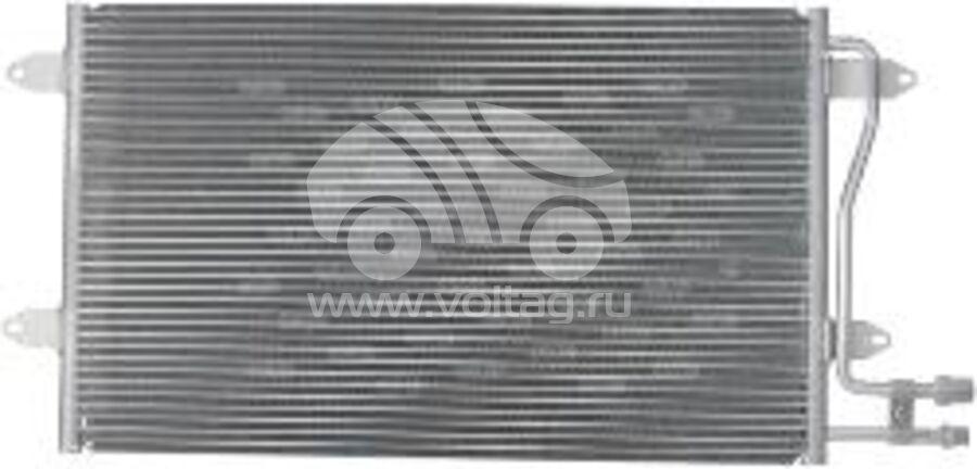 Радиатор кондиционера KRC0157