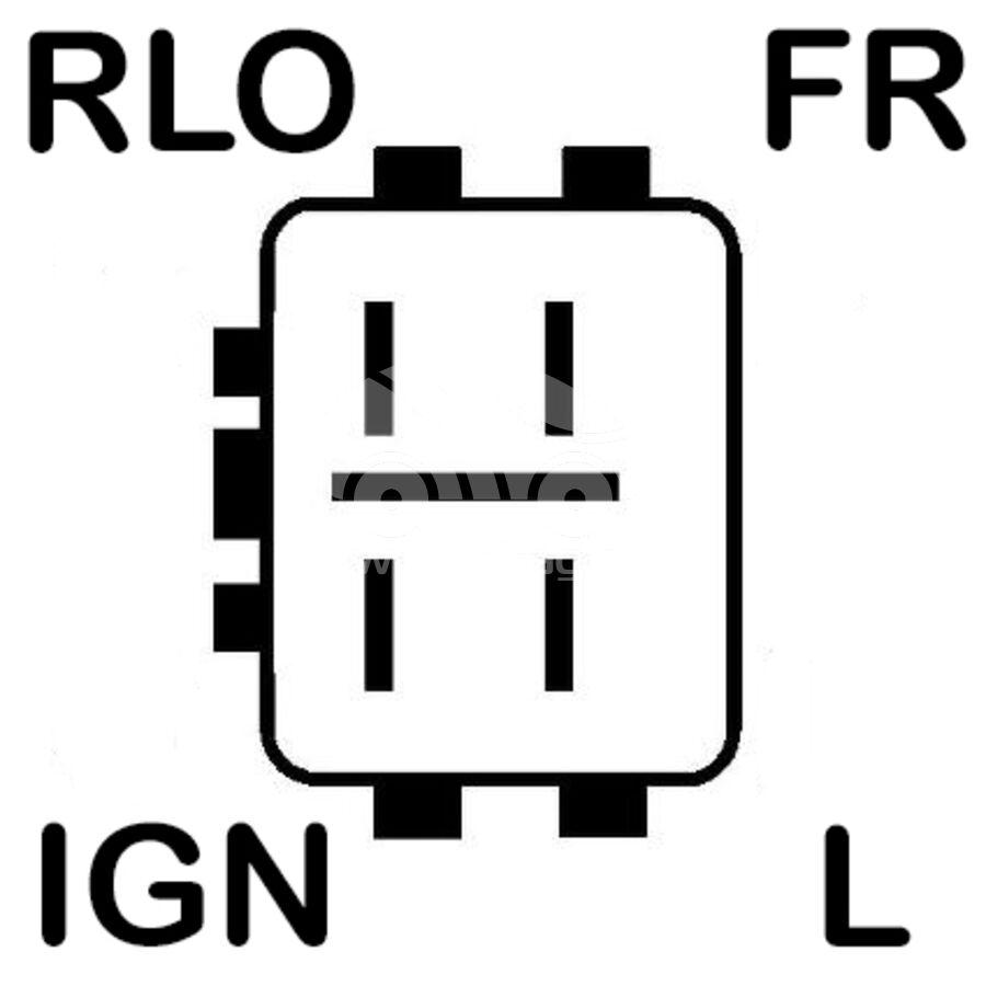 ГенераторKRAUF ALN4713AN (1042104713)