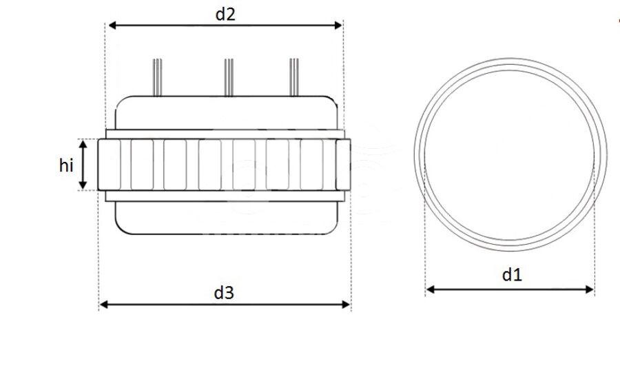 Статор генератора AFD6871