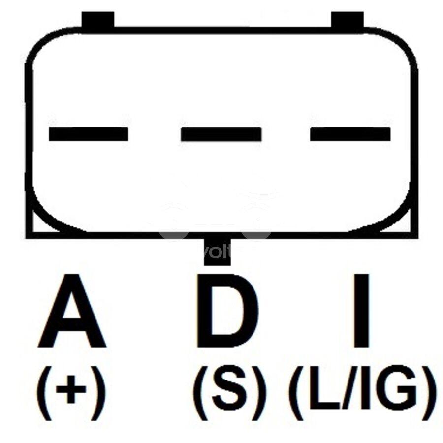 Регулятор генератора ARM3836