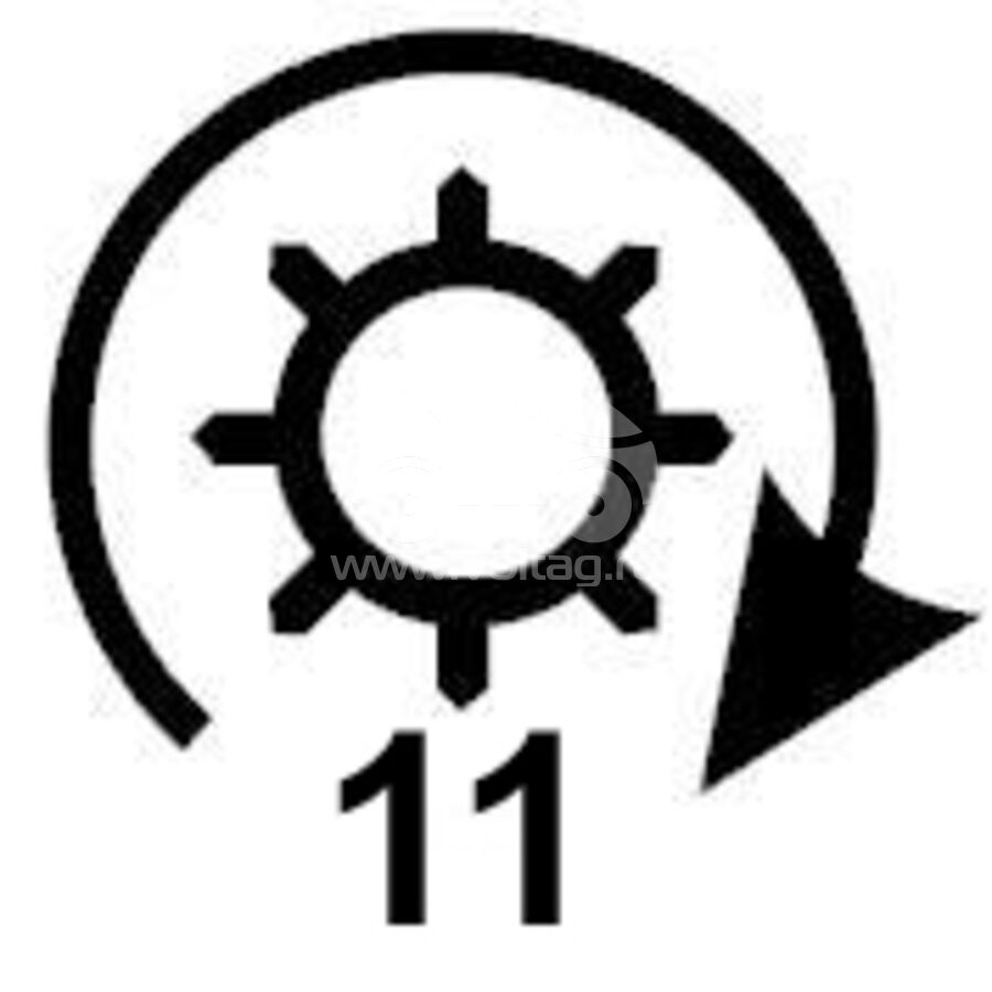 Редуктор стартера + бендиксKRAUF SDW4110EC (SDW4110)