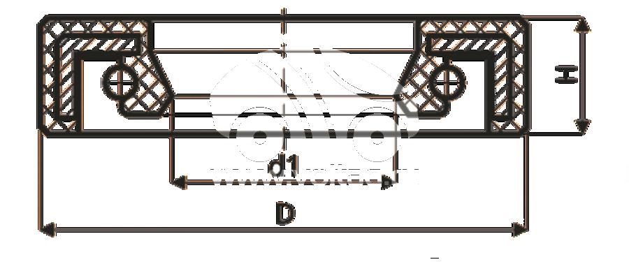 Сальник рулевой рейки HAZ0002