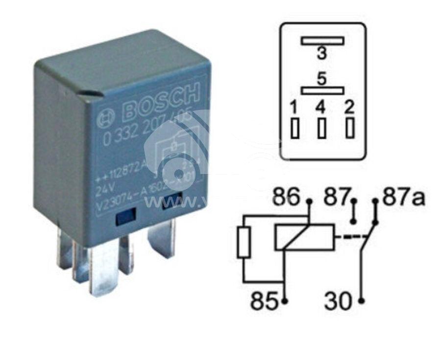Реле электрическое UZB1345