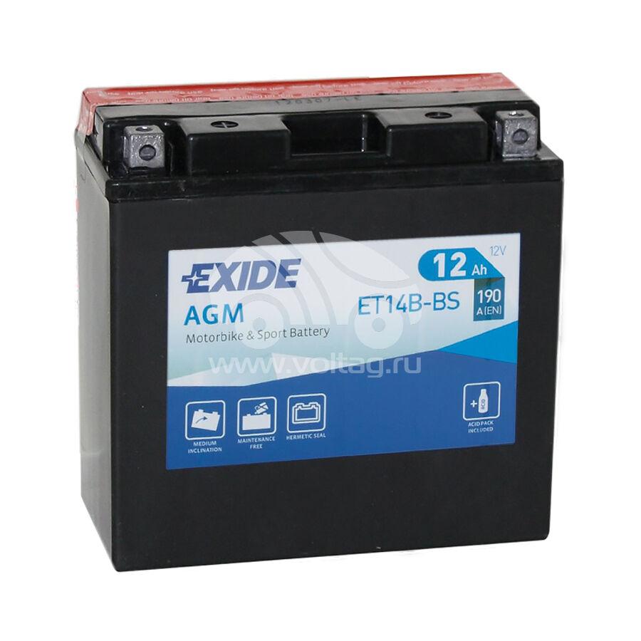 АккумуляторExide ET14BBS (ATM0014XE)