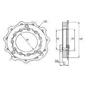Ключ для геометрии турбокомпрессоров MGT9005